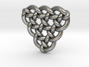 Celtic Knots 10 (small) in Natural Silver