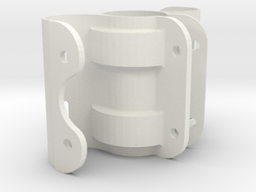Bearing bracket in White Natural Versatile Plastic