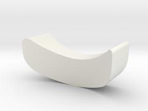 Inside step in White Natural Versatile Plastic