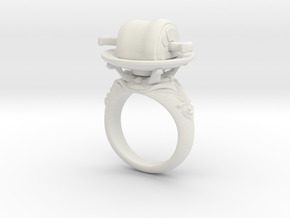 Meat Ring(Type-01) in White Strong & Flexible