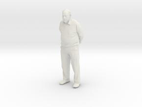 Opa_Hollow_2_18CM in White Natural Versatile Plastic