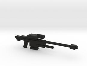 SRS 98 50.c Sniper Rifle in Black Strong & Flexible