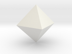 tron yes octohedron in White Natural Versatile Plastic