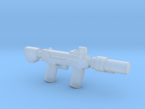 Silenced SMG in Smooth Fine Detail Plastic