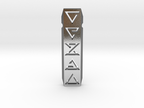 The Witcher Signs Necklaces / Pendant in Polished Silver