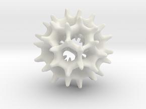 Virus I 39mm (Futbol Guy) in White Natural Versatile Plastic