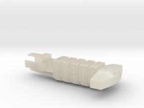 Merchant Spaceship in White Acrylic