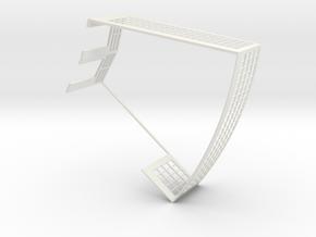 Ringlokschuppen Spur Z 1:220 Teil 2 in White Natural Versatile Plastic