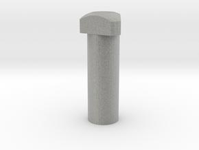 Jedi Comlink Prop Replica Triangular Head Bolt in Metallic Plastic