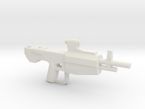Scoped Marksmanship Rifle in White Strong & Flexible