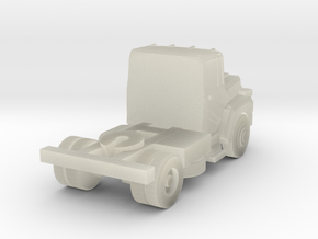 Mack Semi Truck 2 - Z scale in Transparent Acrylic