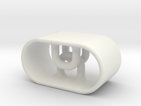 String Toggle Grip in White Strong & Flexible