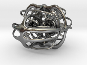 sculpture 1 in Polished Silver
