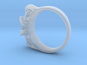 Arc Ring in Smooth Fine Detail Plastic