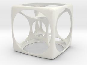 Hyper Cube 3 in White Strong & Flexible