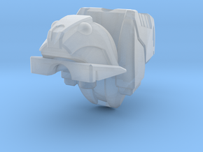 Roadbuster head mk1 in Smooth Fine Detail Plastic