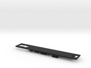 HO R27 Subway Car FRAME in Black Natural Versatile Plastic