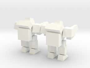 Lil Peewee in White Processed Versatile Plastic