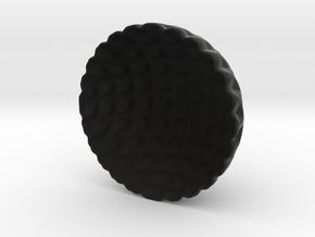 Lattice Tea-light Cover in Black Strong & Flexible