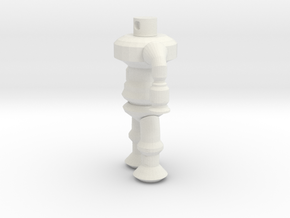 Robotspline in White Natural Versatile Plastic