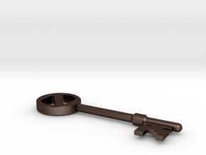 Oz key in Matte Bronze Steel