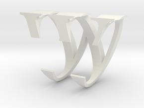 Christine W''s ring in White Natural Versatile Plastic