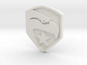 GI Joe logo button in White Strong & Flexible