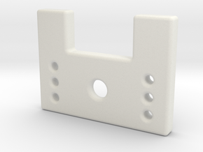 Zoybar Nut Piece in White Natural Versatile Plastic