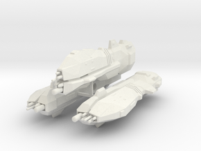 USF Heavy Cruiser x 3 in White Natural Versatile Plastic