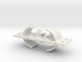 Zyphon Nettle Class Light Cruiser in White Strong & Flexible