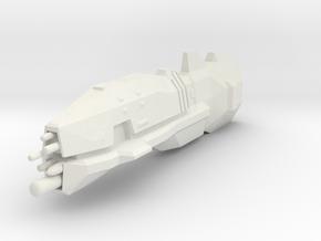 USF Light Cruiser in White Natural Versatile Plastic