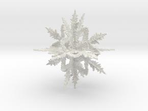 snowball1 in White Natural Versatile Plastic