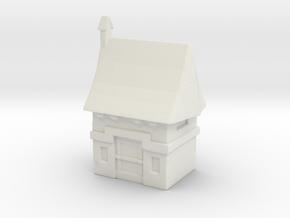 Vampire House in White Natural Versatile Plastic