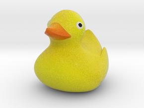 Ducky in Full Color Sandstone