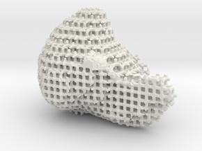 Laura 02b 10 5 in White Natural Versatile Plastic
