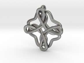 Friendship knot in Natural Silver
