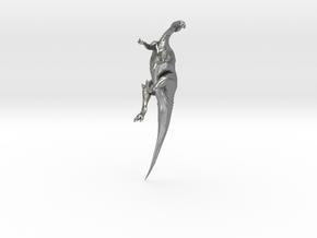 Edmontosaurus Krentz in Natural Silver
