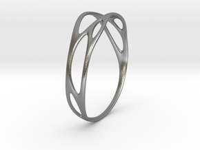Branching No.1 in Raw Silver