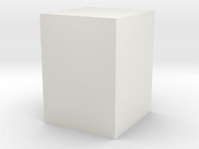 shellcube1 in White Natural Versatile Plastic