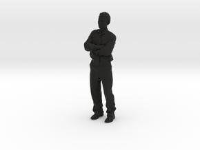 AntoineShirt2 in Black Strong & Flexible
