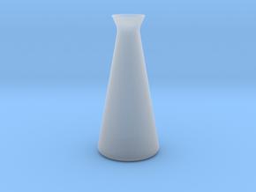 Designer Vase in Smooth Fine Detail Plastic