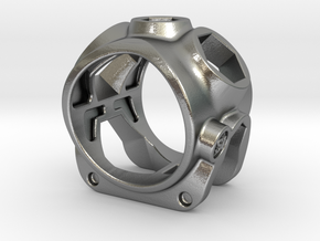 1086 ToolRing - size 9 (18,90 mm) in Natural Silver