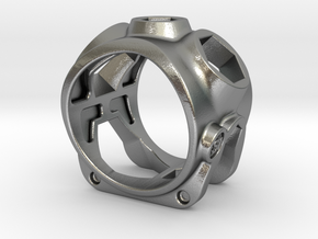 1086 ToolRing - size 11 (20,60 mm) in Natural Silver