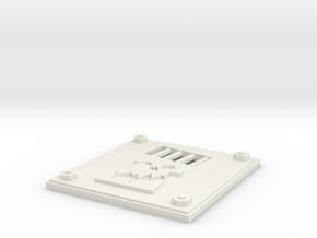 Rhino Door Mrk 1 slim in White Natural Versatile Plastic