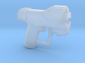 Space Pistol-G-r Variant in Smooth Fine Detail Plastic