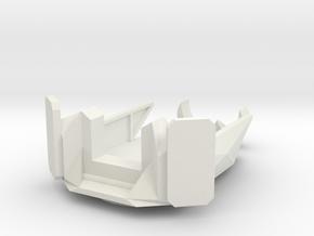 Gun Deck in White Natural Versatile Plastic