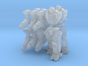 Mecha- Odyssey- Kronos parts (1/285th) in Smooth Fine Detail Plastic
