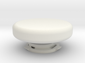 Pan-Tilt for GoPro (closure knob) in White Natural Versatile Plastic