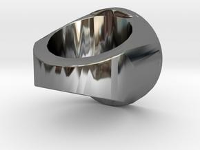 Zwet Plassers Zegelring in Premium Silver