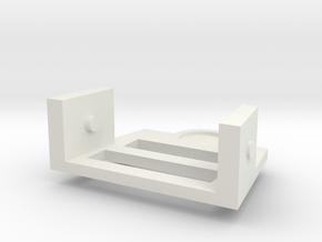 Treadwell Neck 4 in White Natural Versatile Plastic